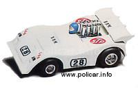 Slotcar Policar Polistil Evolution BRM P154 Can-Am