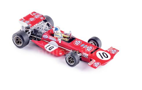 Slotcar Policar Polistil Policar - Slot.it March 701 - #10 Chris Amon - Spa GP 1970