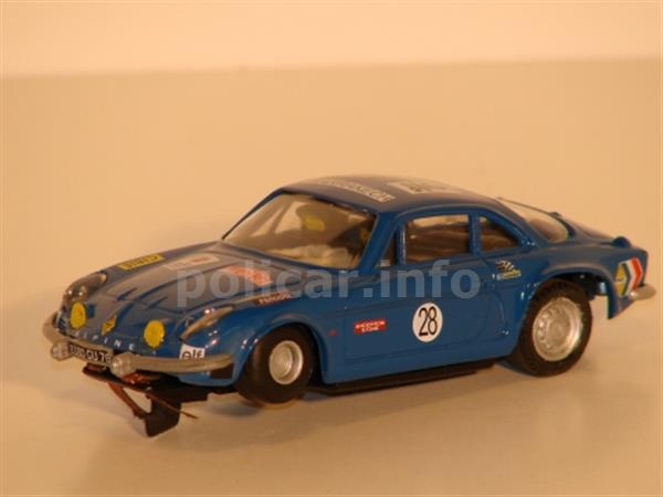Alpine Renault A110  (Policar by Proslot PC012)